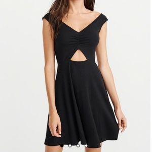 Abercrombie Off the Shoulder Cutout Dress - NWT